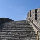 Picture - Stairs on the Great Wall of China.