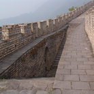 Picture - Detail of the Great Wall of China.
