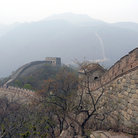 Picture - The Great Wall of China with surrounding mountains at Mutianyu.