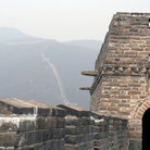 Picture - A portion of the Great Wall at Mutianyu.
