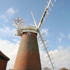Picture - An old windmill near Great Yarmouth.
