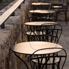 Picture - Outdoor cafe in Greenville, South Carolina.