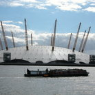 Picture - Millennium Dome view over the Thames.