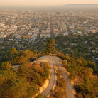 Picture - The Los Angeles skyline from Griffith Park.