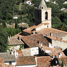 Picture - View over Grimaud.