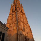Picture - Tower of the Breda Cathedral.