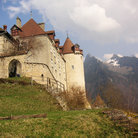 Picture - Castle in Gruyere.
