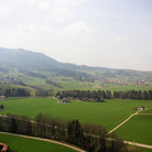Picture - Landscape in Gruyere.