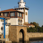 Picture - The Arriluce lighthouse in Getxo.