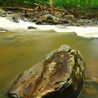 Picture - Boulders in Gunpowder State Forest.