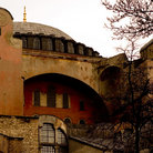 Picture - View of Hagia Sophia in Istanbul.