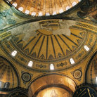 Picture - Interior of Hagia Sophia in Istanbul.