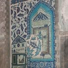 Picture - Pictured Iznik tiled wall in the Hagia Sophia in Istanbul.