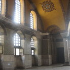 Picture - The loge of the Empress in the Hagia Sophia in Istanbul.