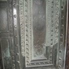 Picture - Carved metal door in Hagia Sophia in Istanbul.