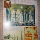 Picture - Early drawing of Hagia Sophia in the era of Fatih Sultan Memet in Istanbul.