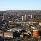Picture - View over Halifax from Beacon Hill.