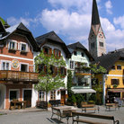 Picture - Town of Hallstatt.