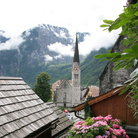 Picture - A church in Hallstatt.
