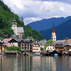 Picture - Houses of Hallstatt.