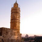 Picture - David tower at Temple Mount, Jerusalem.