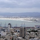 Picture - Seaport at Haifa.