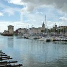 Picture - The harbor at La Rochelle.