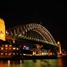 Picture - Sydney Harbour Bridge at night, Syndey.