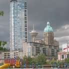 Picture - A playground in Vancouver at Harbour Centre.