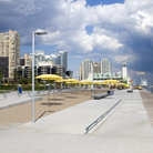 Picture - A pedestrian area at Harbourfront Park in Toronto.
