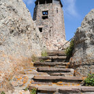 Picture - The stone Observation Tower on Harney Peak.