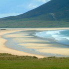 Picture - Beautiful beach on Harris Island.