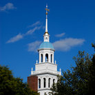 Picture - Blue dome of Lowell House, Harvard University, Cambridge.
