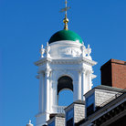 Picture - Green Dome on Elliot House, Harvard University, Cambridge.