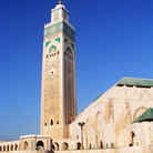 Picture - Tower Hassan II Mosque in Casablanca.