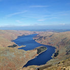 Picture - Aerial view of Haweswater.