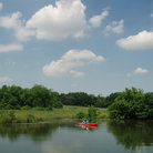 Picture - Kayaking at Heard Natural Science Museum & Wildlife Sanctuary in McKinney, TX.