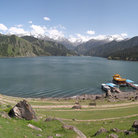 Picture - Heavenly Lake, Xinjiang.