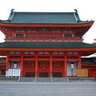 Picture - The Heian Jingu Shrine in Kyoto.