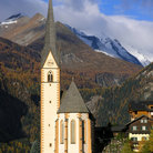 Picture - Gothic parish church (15th C) in popular resort town of Heiligenblut.