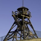 Picture - Guardian of the Gulch, the historic, sunlit Fire Tower built in 1864 in Helena.