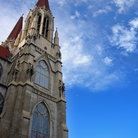 Picture - Gothic Catholic Church in Helena, Montana.