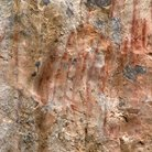Picture - Pictographs at Hellgate Gulch, near Helena, Montana.