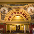 Picture - Interior of Second Floor in State Capitol, Helena, Montana.