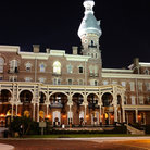 Picture - Night view of the Henry B Plant Museum at the University of Tampa.