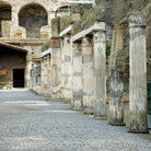 Picture - Detail of Herculaneum Excavations, Naples.