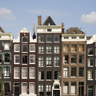 Picture - Buildings on Herengracht in Amsterdam.