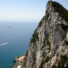Picture - The peak of Gibraltar.