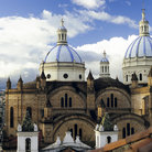 Picture - View of some of the old architecture in the historic center of Cuenca.