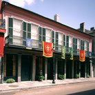 Picture - Merieult House is part of the Historic New Orleans Collection in the French Quarter, LA.